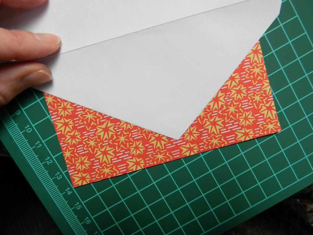 set up for pretty envelopes