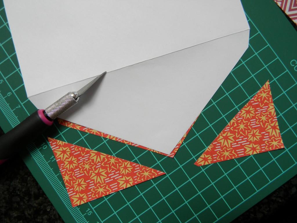step 2 of pretty envelopes