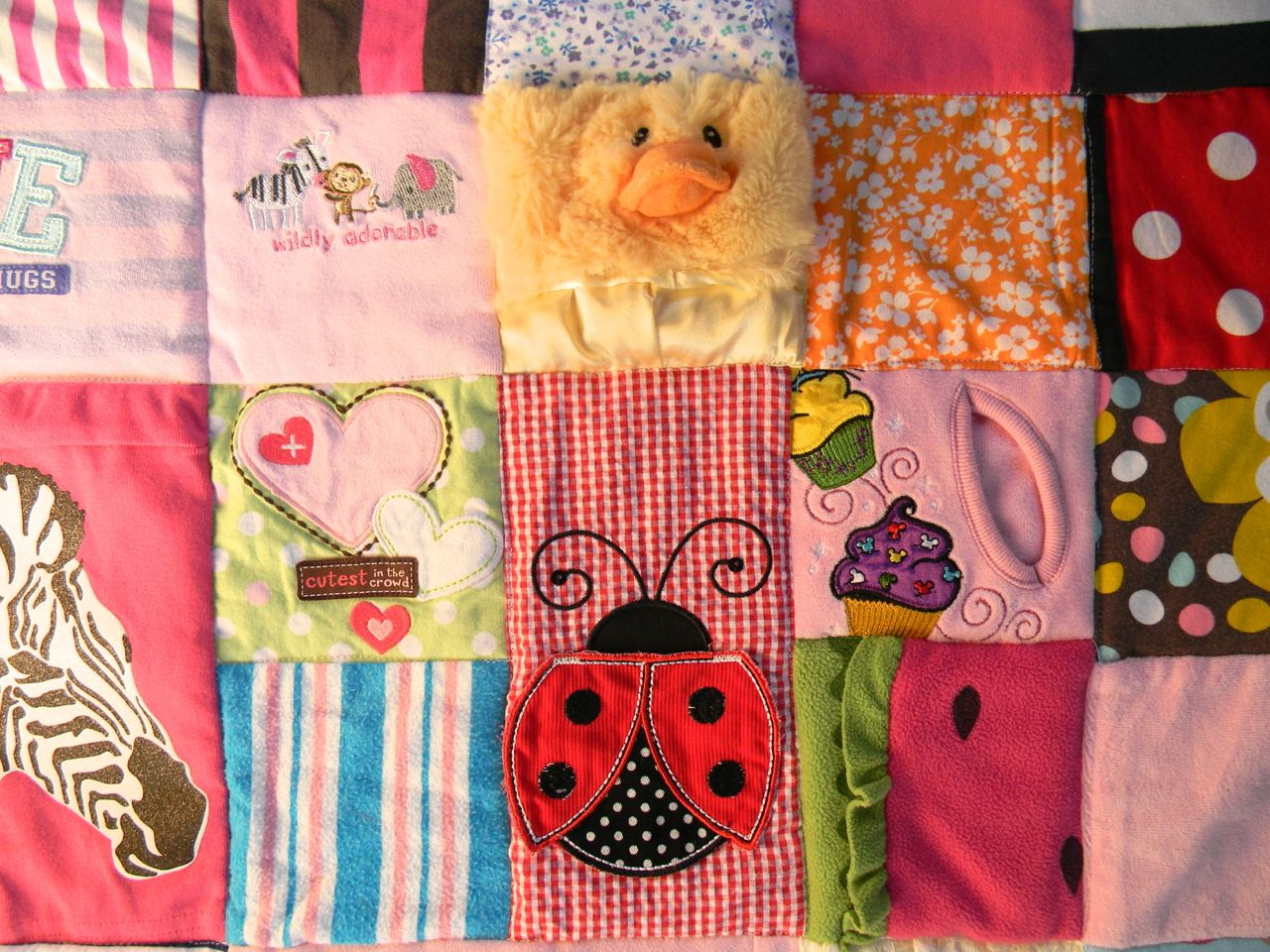 The Long Lost Baby Clothes Quilt A Happy Stitch
