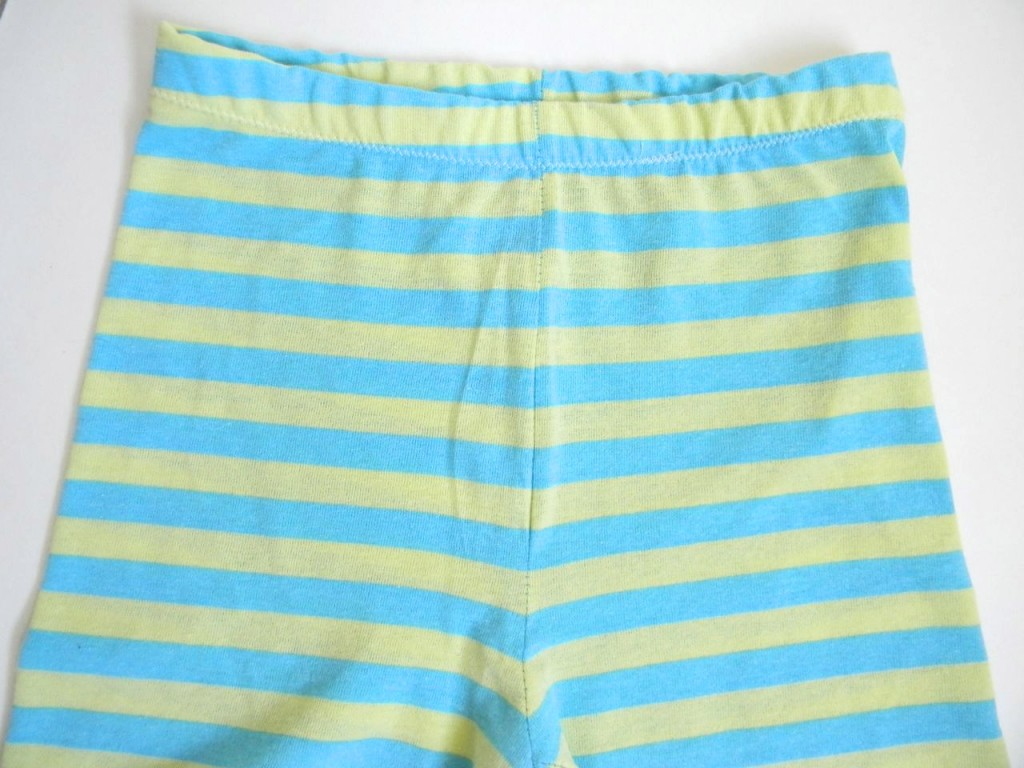 lined up stripe pajamas