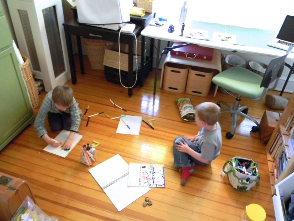 art room in play