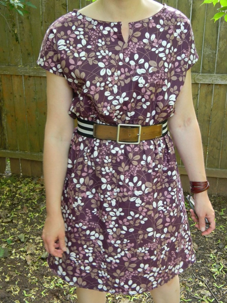 staple dress with belt