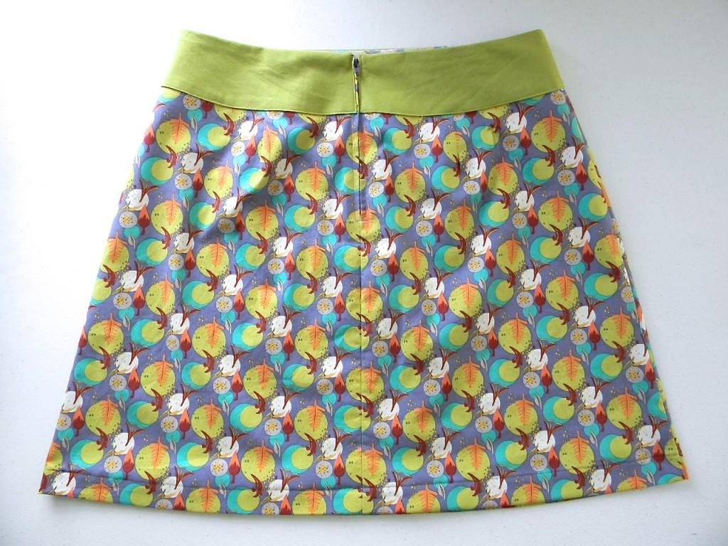 back of summer skirt