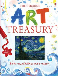 the art treasury book giveaway for Backyard ART Camp