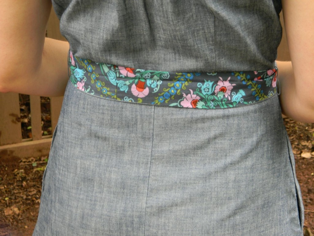 upcycling - belt detail