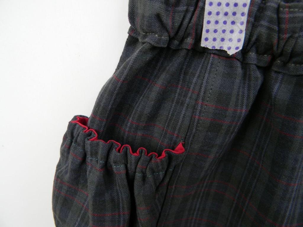 pocket detail on treasure pocket pants