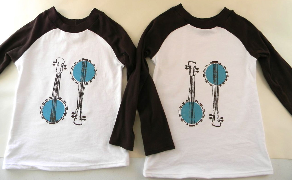 banjo shirts - a happy stitch