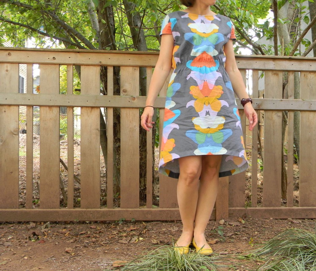 staple dress with hem