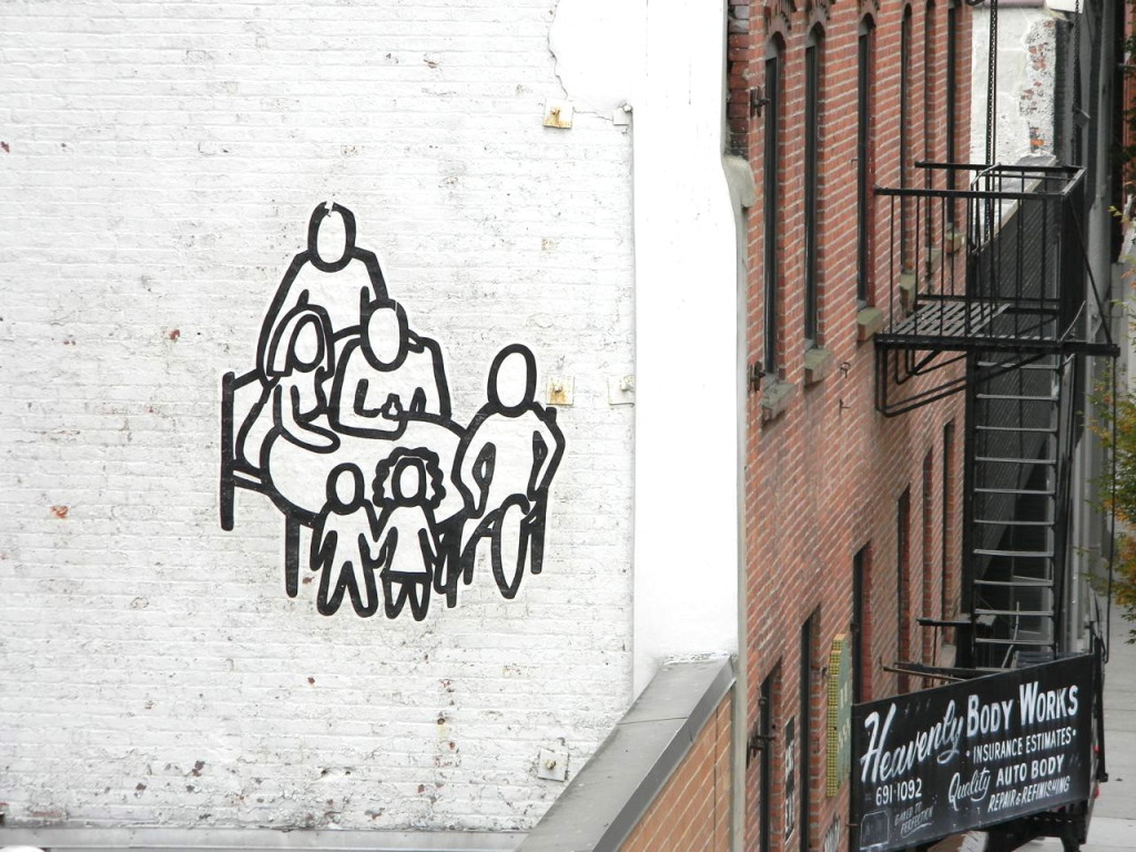 family table art