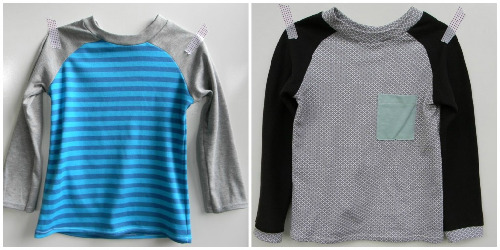 raglan tees from a happy stitch