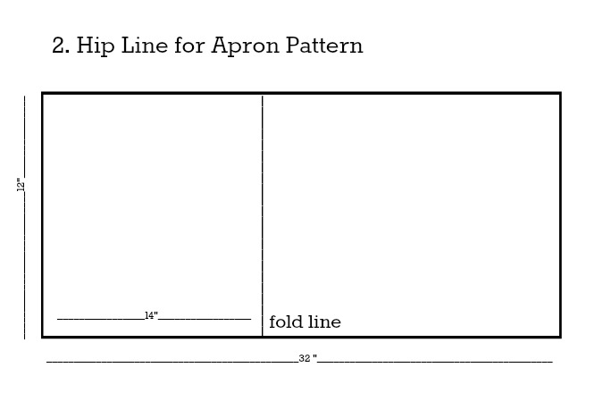 Apron Pattern Hip Line