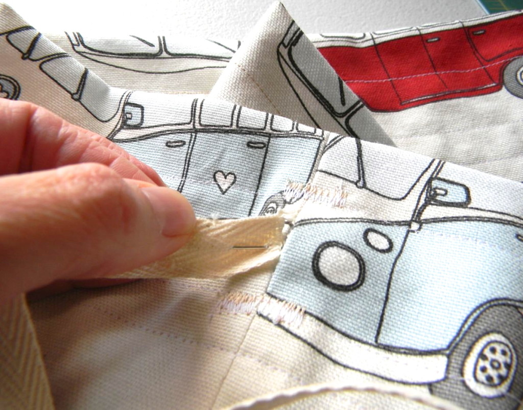 how to make a drawstring bag 5