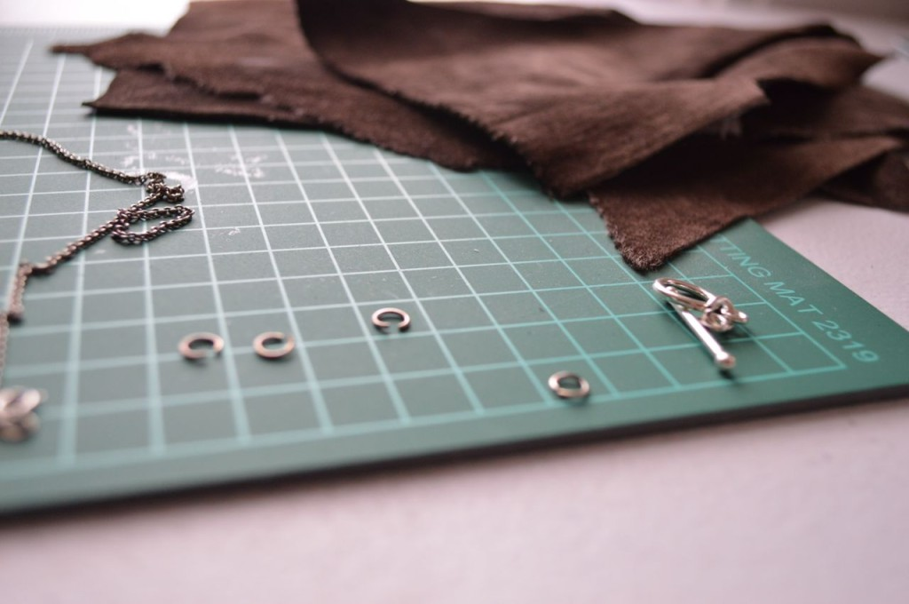 leather necklace supplies
