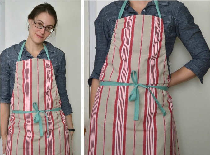 apron pattern final product