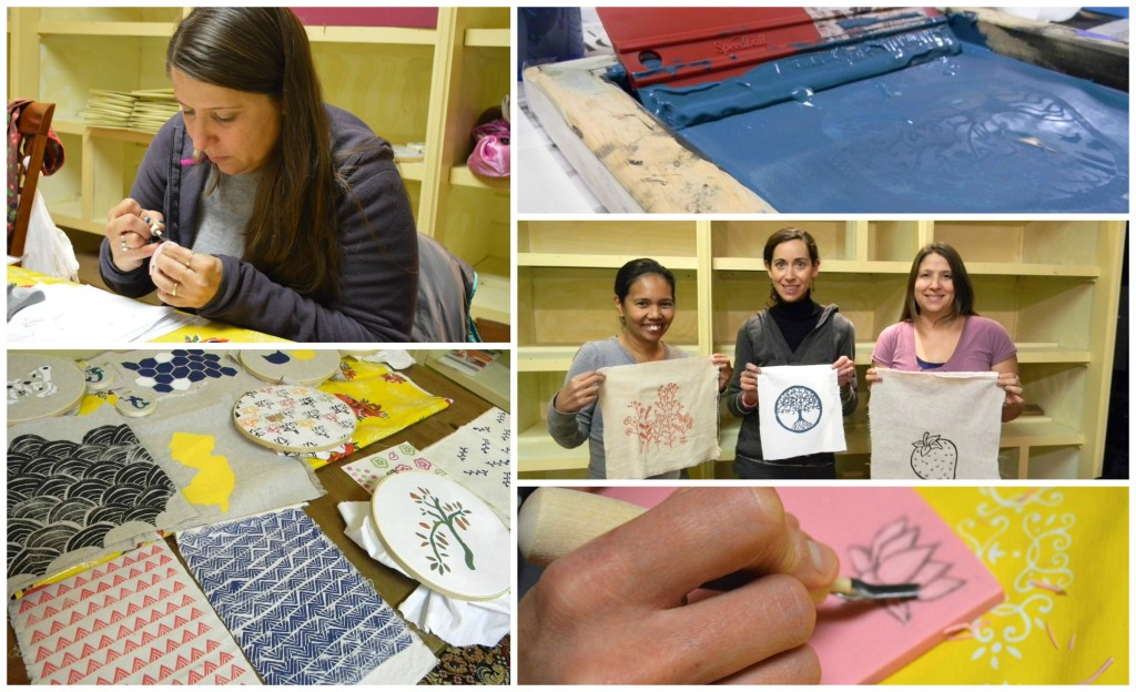 hand-printing class