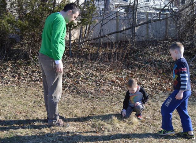 leprechaun treasure hunt - child-driven