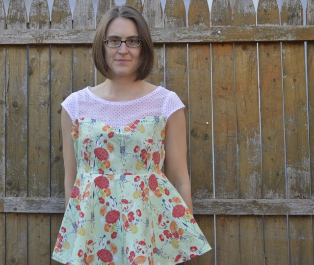 ava top from Perfect Pattern Parcel by a happy stitch