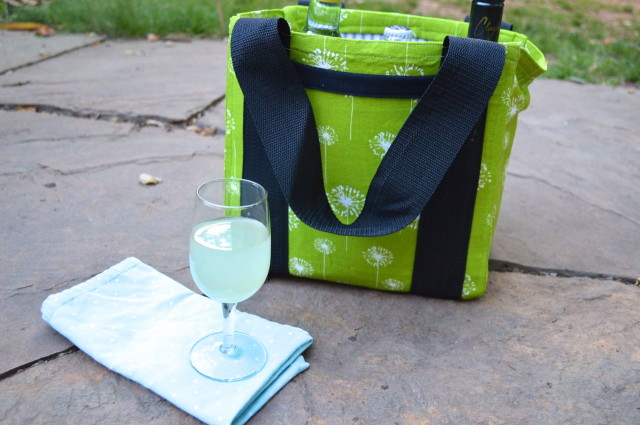 Drinks Carrier for Summertime BBQ | Pattern Parcel #3 made by a happy stitch