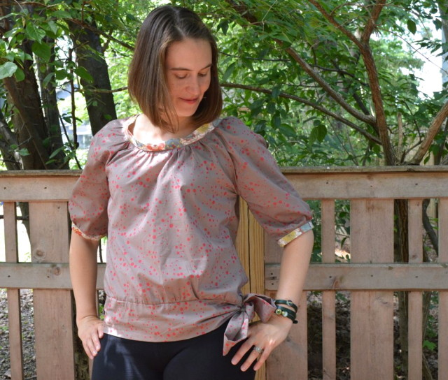 Honey Blouse | Pattern from Make It Perfect made by a happy stitch