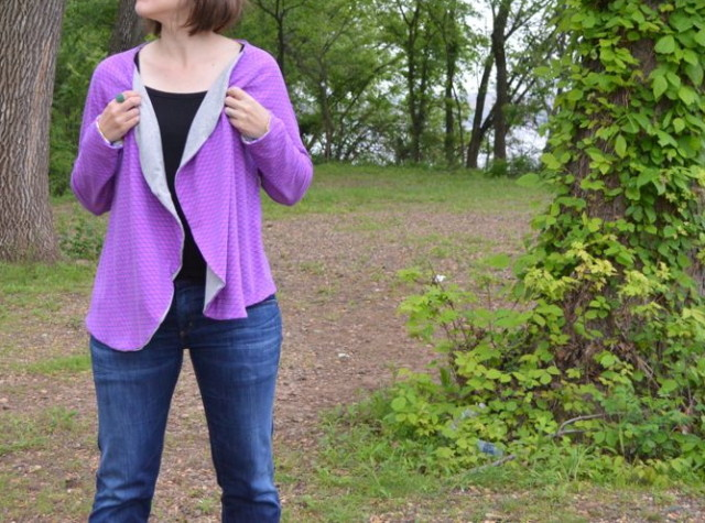 Meridian Cardigan | Pattern from IMagine Gnats made by A Happy Stitch