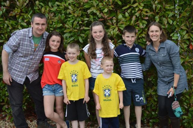 Family in Ireland