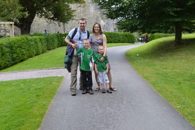 Family Trip to Ireland - Blarney Castle