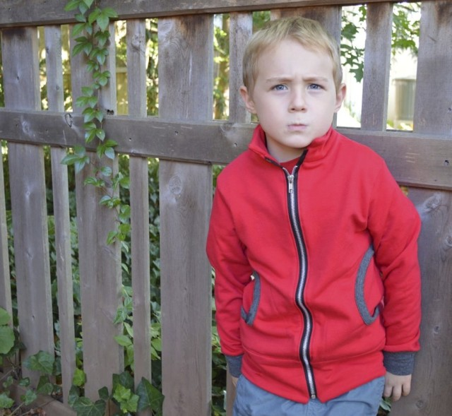Adorable Zippy Jacket from Melly Sews | Pattern from Perfect Pattern Parcel 4 made by a happy stitch