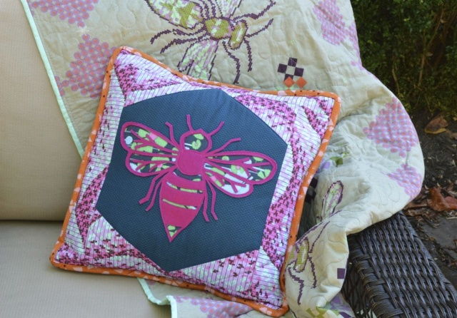 Sweet Life Pillow from Present Perfect | made by A Happy Stitch