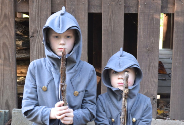We are Knights! The awesome Knight Hoodies from Charming Doodle | made by a happy stitch