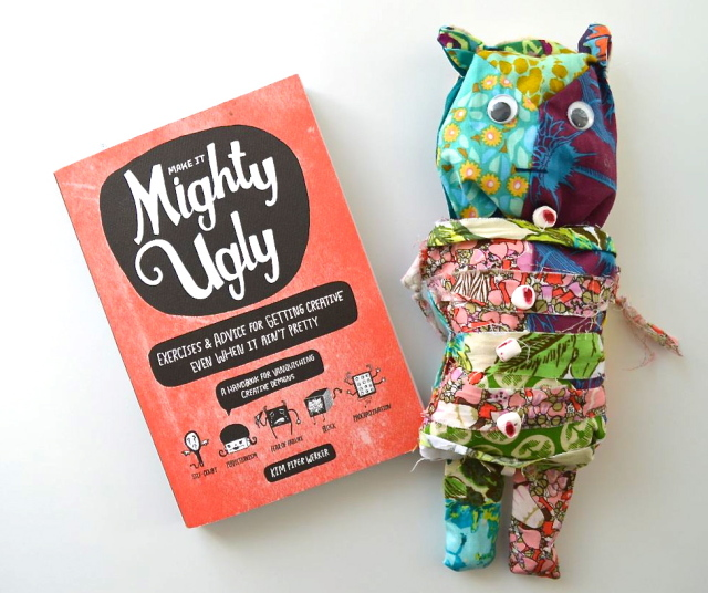 Make It Mighty Ugly book review | from a happy stitch