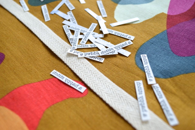 DIY: Make your own personalized labels