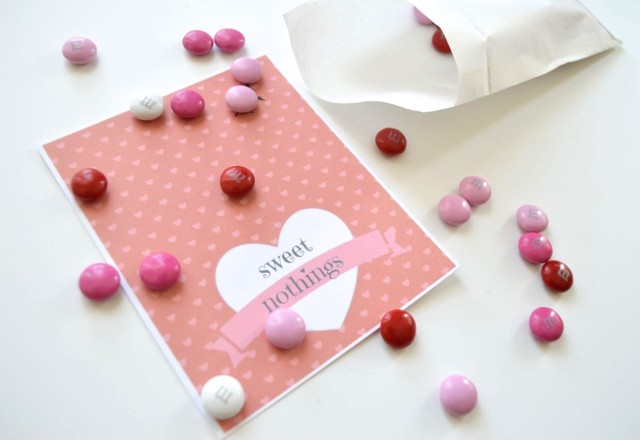 sweet nothings wrappers for sweet treats on Valentines Day | a happy stitch