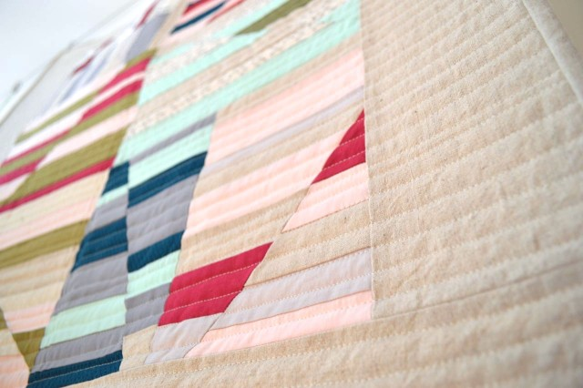 Aerial Quilt | a happy stitch