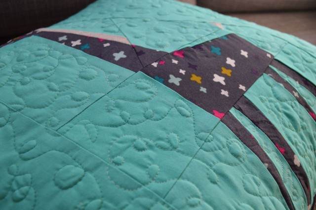 Paper Pieced Home Book _ Giraffe Pillow + Giveaway | a happy stitch