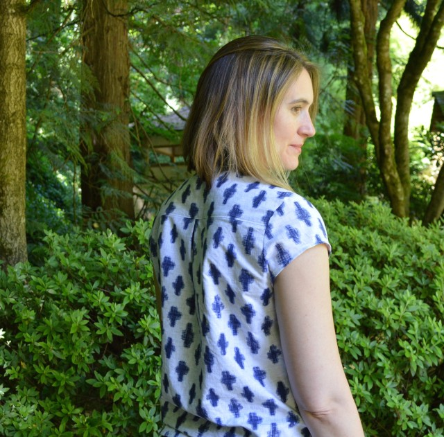The Great Pattern Hack :: My Marigold Blouse and Marigold/Alder Dress