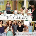 fall sewing classes