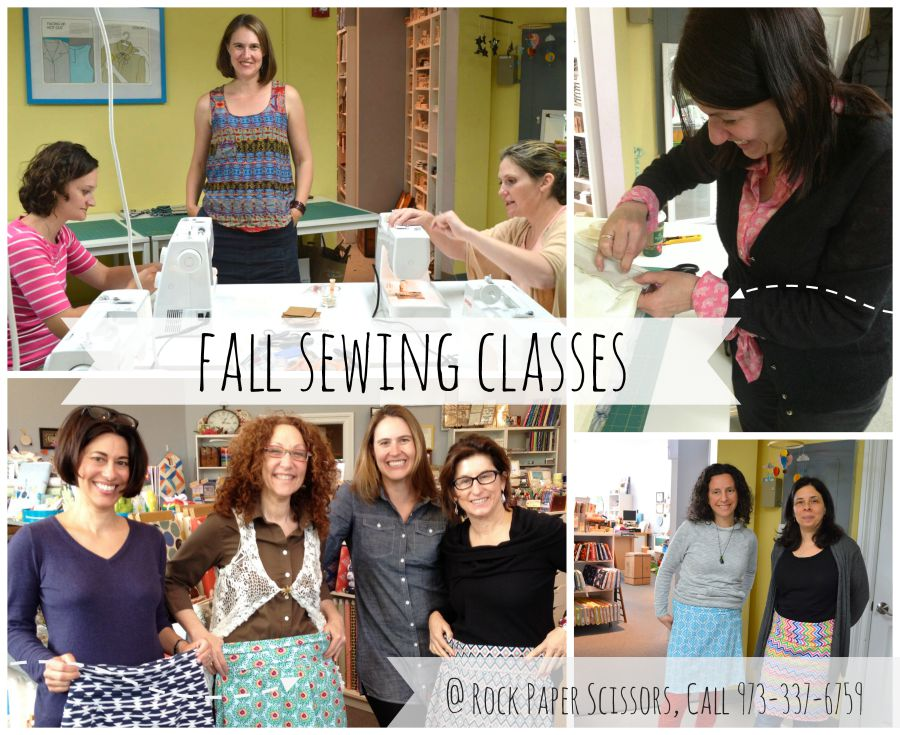 fall sewing classes a happy stitch
