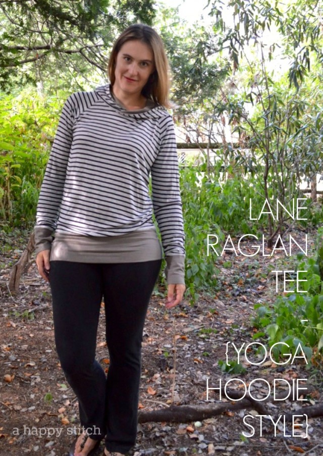 lane raglan tee as yoga hoodie
