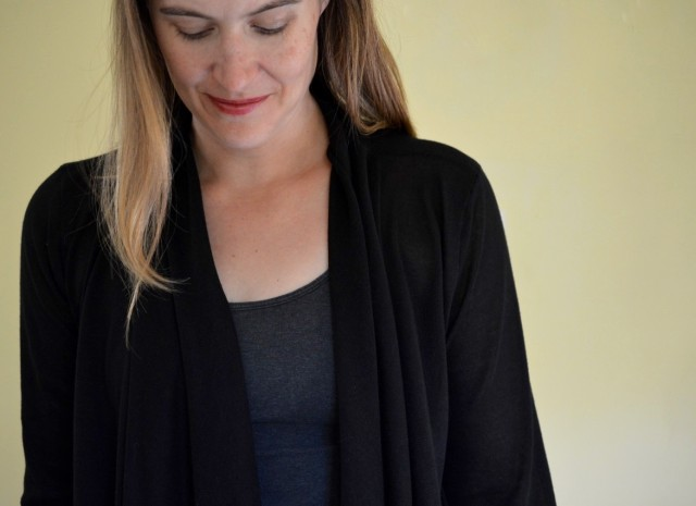 Tips for Sewing With Sweater Knit Fabric - The Laurelhurst Cardigan