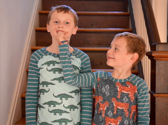 Wild Animal Pajamas // Kids' Clothes Week