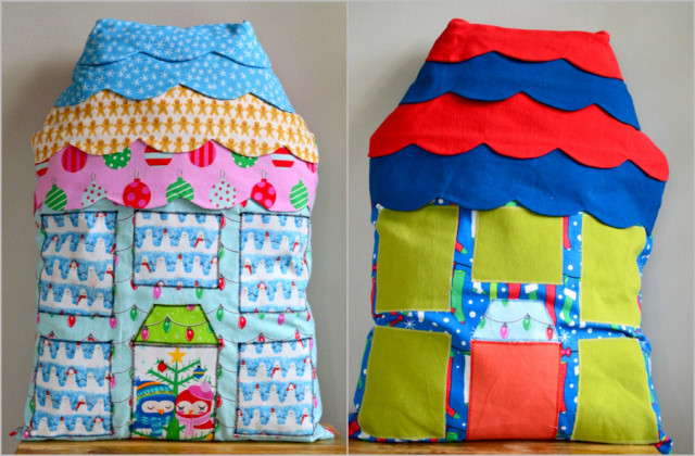 Radiant Home Studio blog tour :: Highland Avenue Houses // a happy stitch