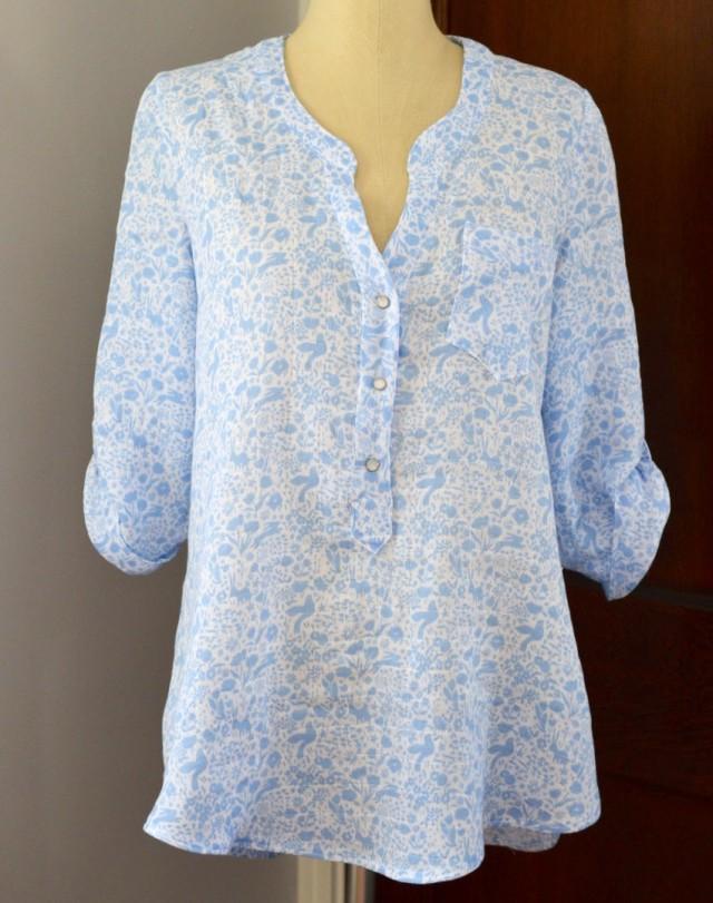Cheyenne Top // Project Sew It // a happy stitch
