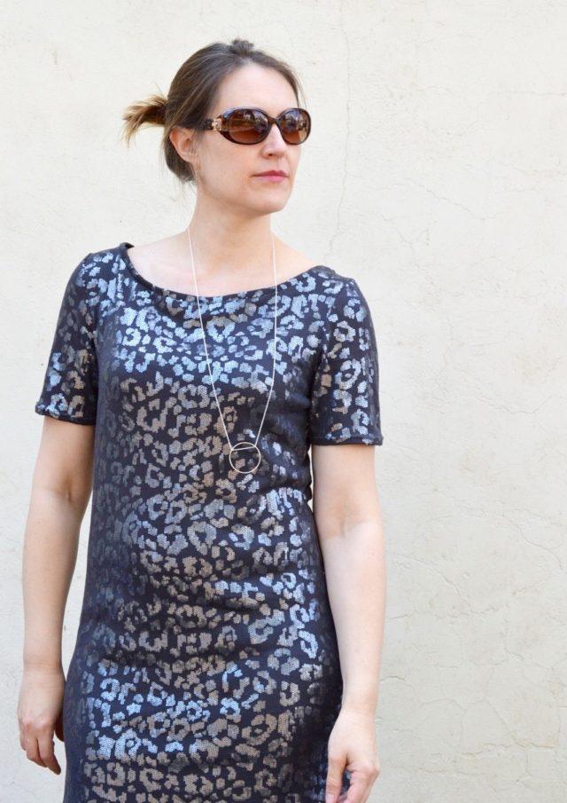 Mesa Dress from Seamwork Mag | sewn by a happy stitch