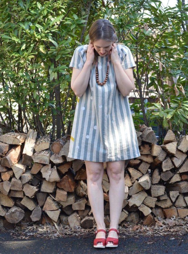Sailor Top Dress | a-happy-stitch