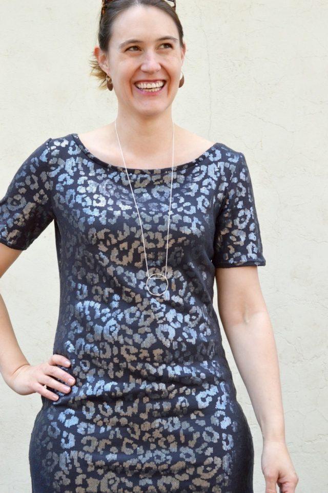 Sparkly Mesa Dress from Seamwork Mag | a happy stitch