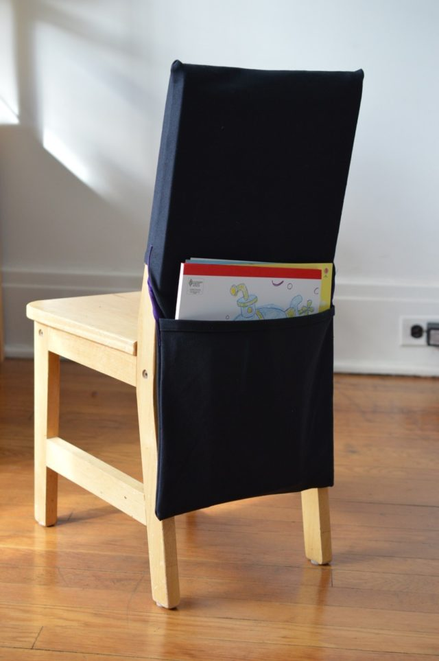 chair pockets perfect for kindergarten classrooms | a happy stitch