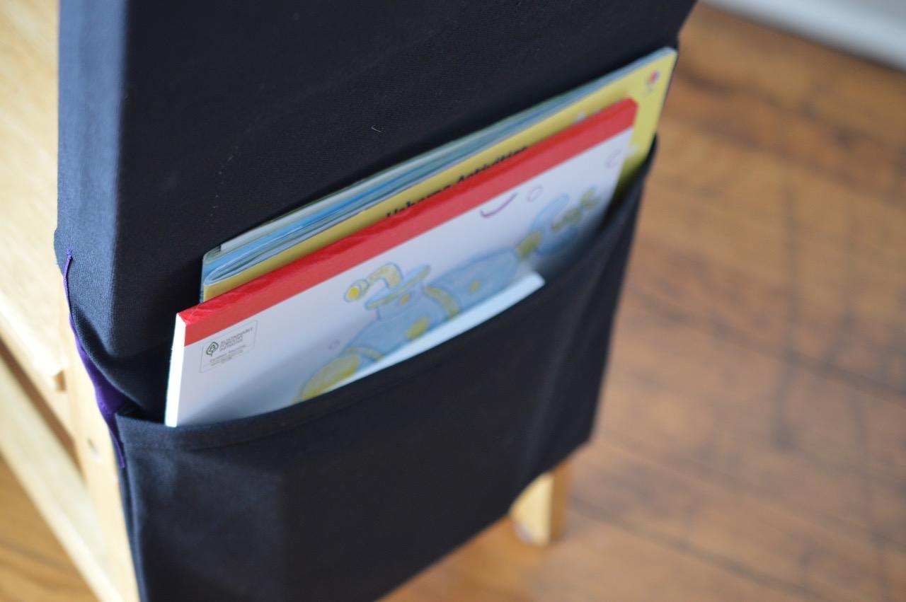Classroom Chair Pockets - A HAPPY STITCH