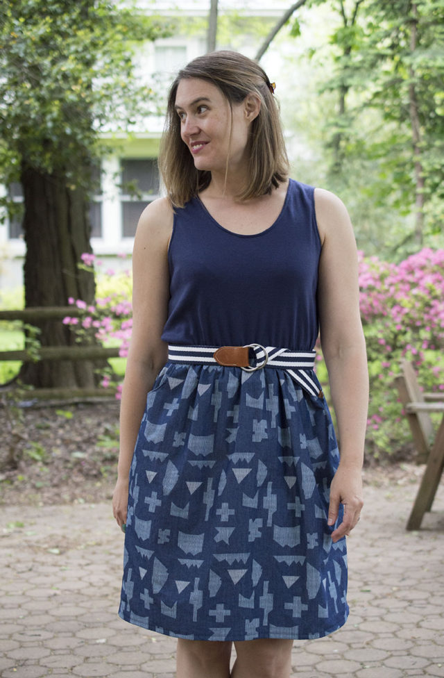 Catalina Dress by Blank Slate Patterns | sewn by *a happy stitch*