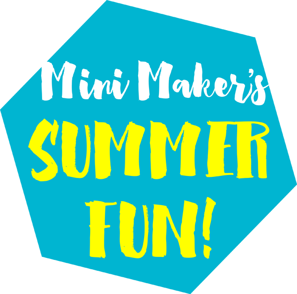 Mini Maker's Summer Fun Series |a happy stitch