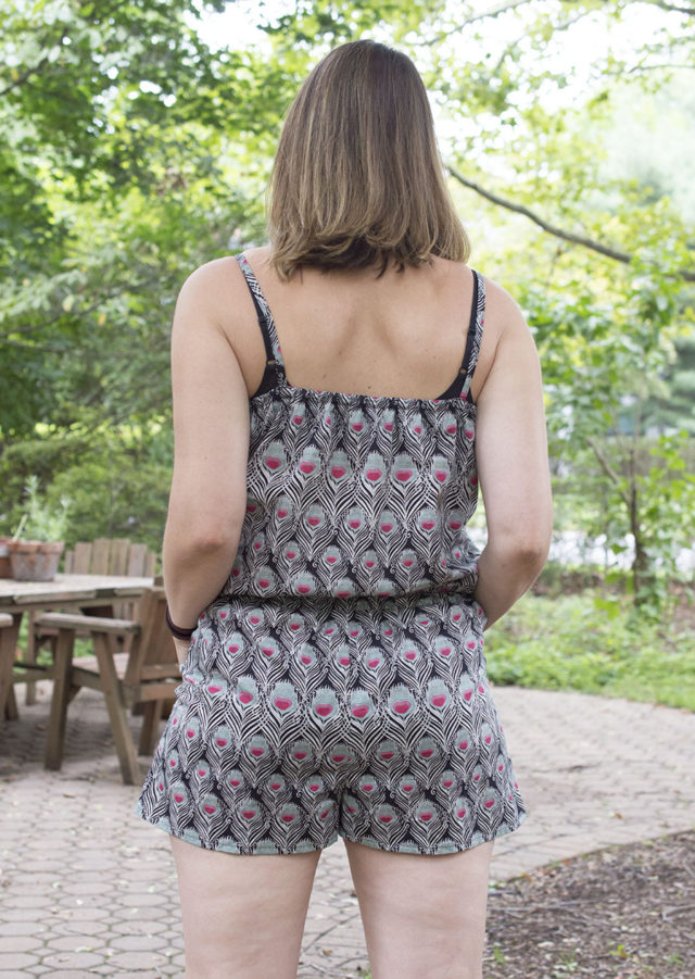 Sanibel Pattern Hack in lovely Liberty | a happy stitch pattern | summer wardrobe
